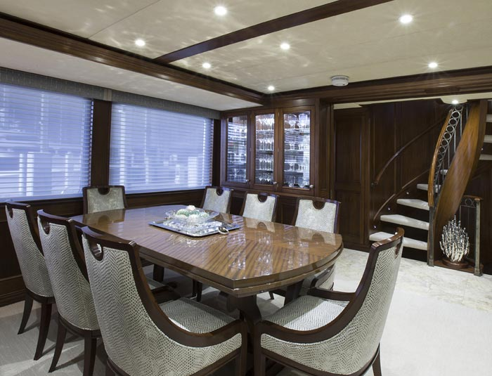 Hargrave Yaucht Life Of Reilly Yacht Interior PLACE