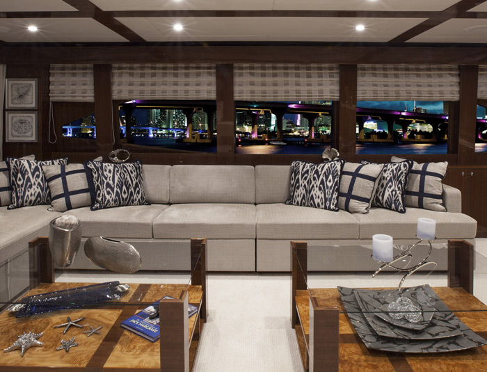 Hargrave Yaucht Quiet Sun Yacht Interior Living Room