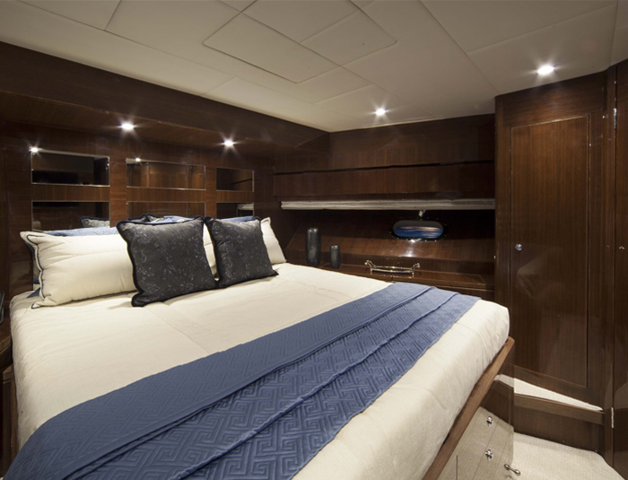 Hargrave Yaucht Quiet Sun Yacht Interior Bedroom